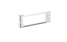 Iconic Horizontal Quad Socket Mounting Bracket